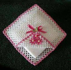 Resultado de imagen para servilletero flor servilletero lana,, crochet,