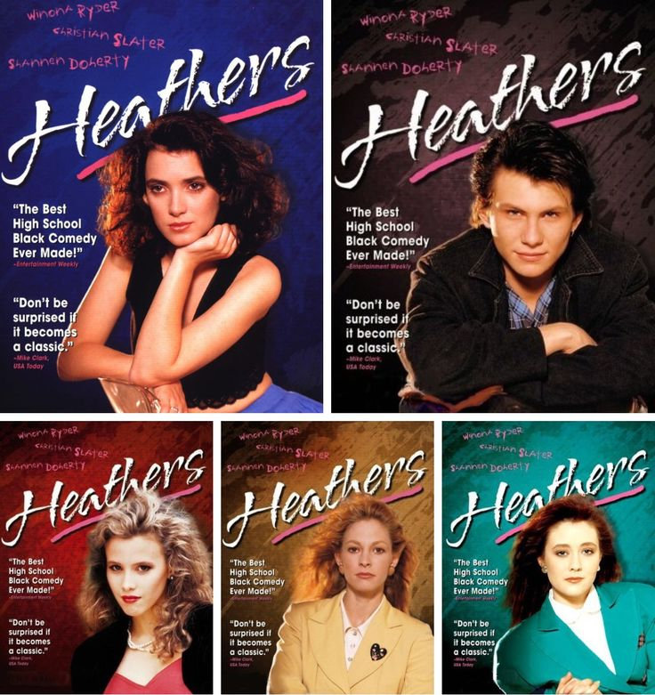 The Heathers, Veronica & JD