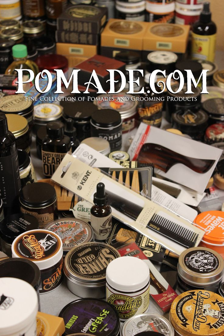 Your One Stop Pomade Shop. www.pomade.com #grooming #pomade #pomades #comb #combs #beard #beardcare #mustache #shave #shampoo #soap #toothpaste #mrpomade