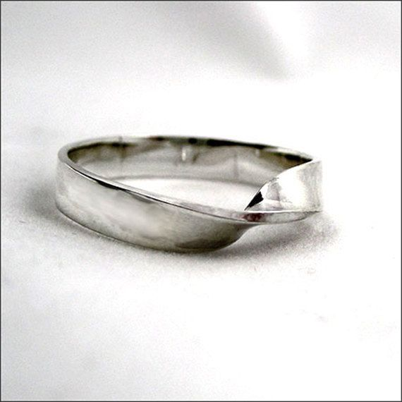 32 Best Mobius Wedding Bands Images On Pinterest