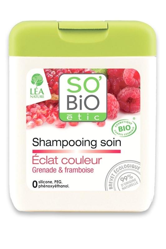 shampooing bio grenade cheveux colors sobio tic - Shampoing Bio Cheveux Colors