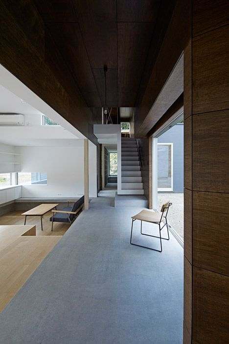 This family house in northern Japan was designed to embrace darkness as well as light.