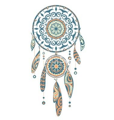 421 best images about boho glam on pinterest for Dreamcatcher tattoo template