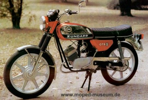 Zündapp – Moped – Eric Werner