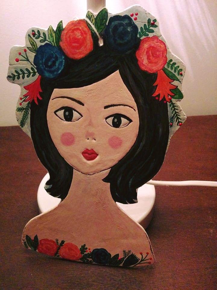 Arina #clay, #acuarela