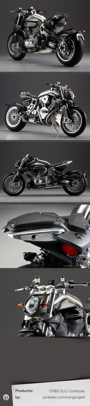 DUU Contalusa by CR #custom motorcycle #moto #tuning