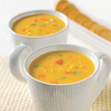 Chaudrée de maïs - Recettes - Cuisine et nutrition - Pratico Pratiques - Comfort food