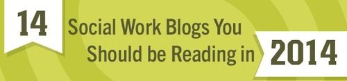 Follow the source to see the top 14 social work blogs