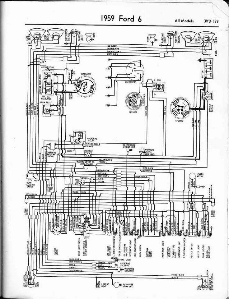 1974 Ford F100 Engine Wiring Diagram and F Ford Econoline ...
