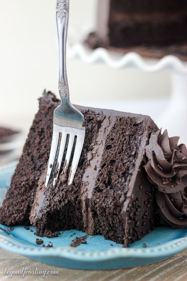 Sink your teeth into this AMAZING Chocolate Stout Cake.
