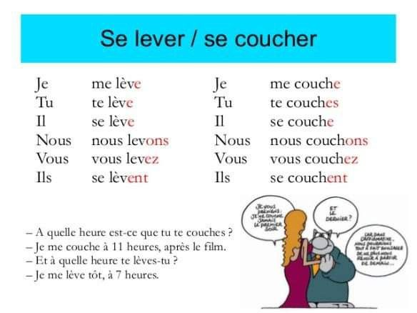 Se Lever Conjugation