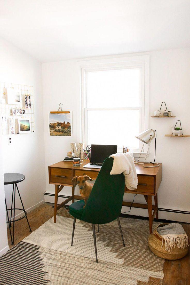 mid century modern career studio in 2019 minimalist home rh pinterest com