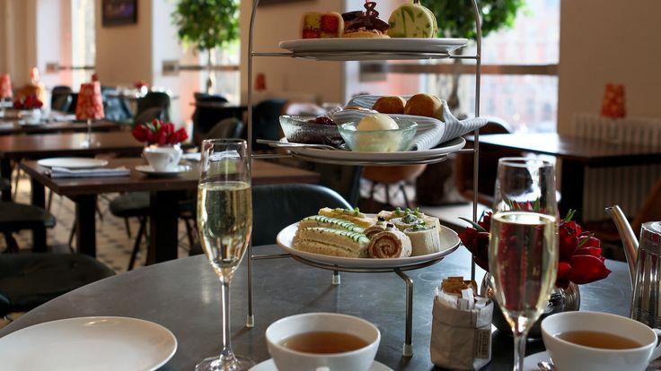 Afternoon Tea — Royal Albert Hall