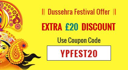 Dussehra offers for UK and Europe Customers £20 discount using Coupon Code on TV yearly packages