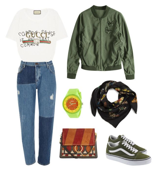 """""""Let's Hangout"""" by afifahafifa on Polyvore featuring River Island, Gucci, Crayo, Vans, Chloé and hangout"""