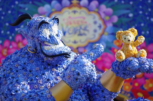 Genie and Duffy the Bear