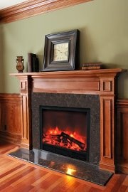 Electric fireplace insert by Yosemite Home Decor
