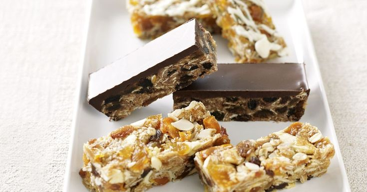 Try these energy-packed homemade treats — they're great for when you're on the go.