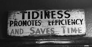 Image result for tidiness