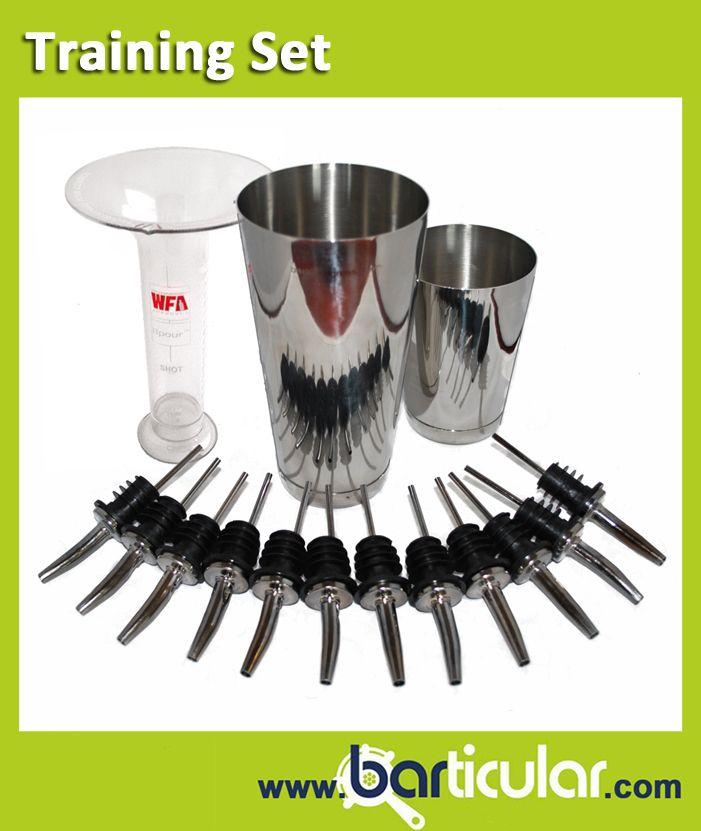 Training Set. Accessori per il bartender che si allena nella tecnica del Free Pouring. http://www.barticular.com/store/kit-completi-barman/kit-barman-allenamento-freepouring-training-set