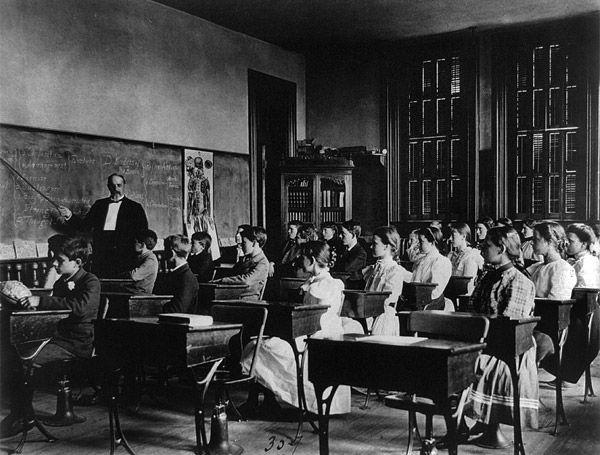 Peek Inside School Classrooms 1899 Classroom Inside
