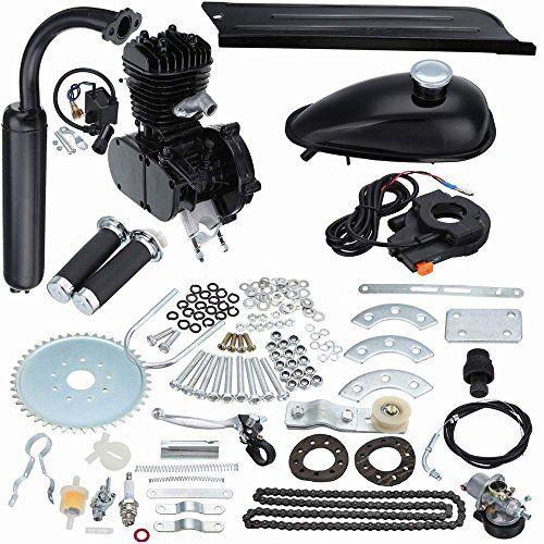 "Seeutek 80cc bicycle engine motor kit motorized bicycle engine for 26"" or 28"" Wheel"