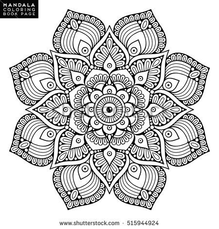 Design Mandala Colouring Pages Zentagle Book Adult Coloring