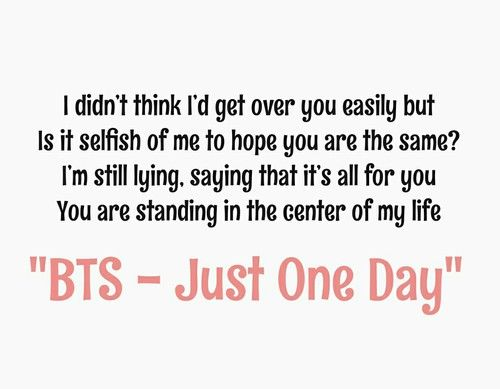 bts just one day inspiring quotes from bts bangtan