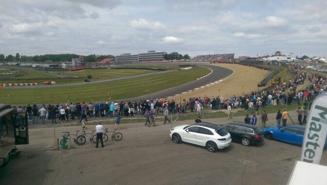 View from race truck roof - Brands Hatch 2015