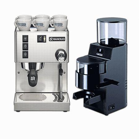 latte machine with grinder