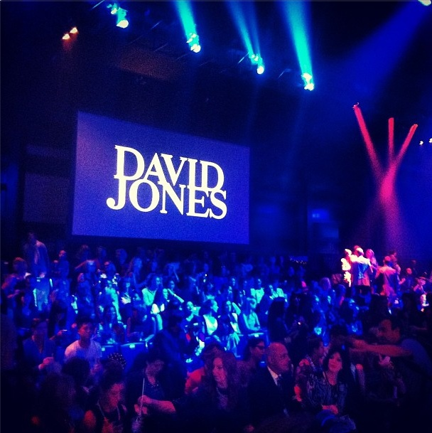 Day Two: Starting now David Jones opening event #lmffnow