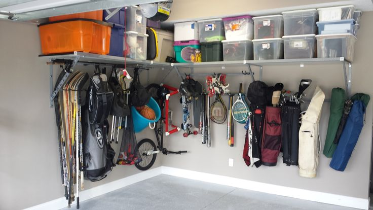 The last garage shelving system you will ever need! Monkey Bar Storage's garage shelving system adapts with your needs, so you have a product that is perfect for the present and future.