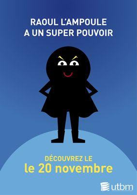 Affiche de lancement de la campagne éco-gestes thématique énergie - novembre 2014