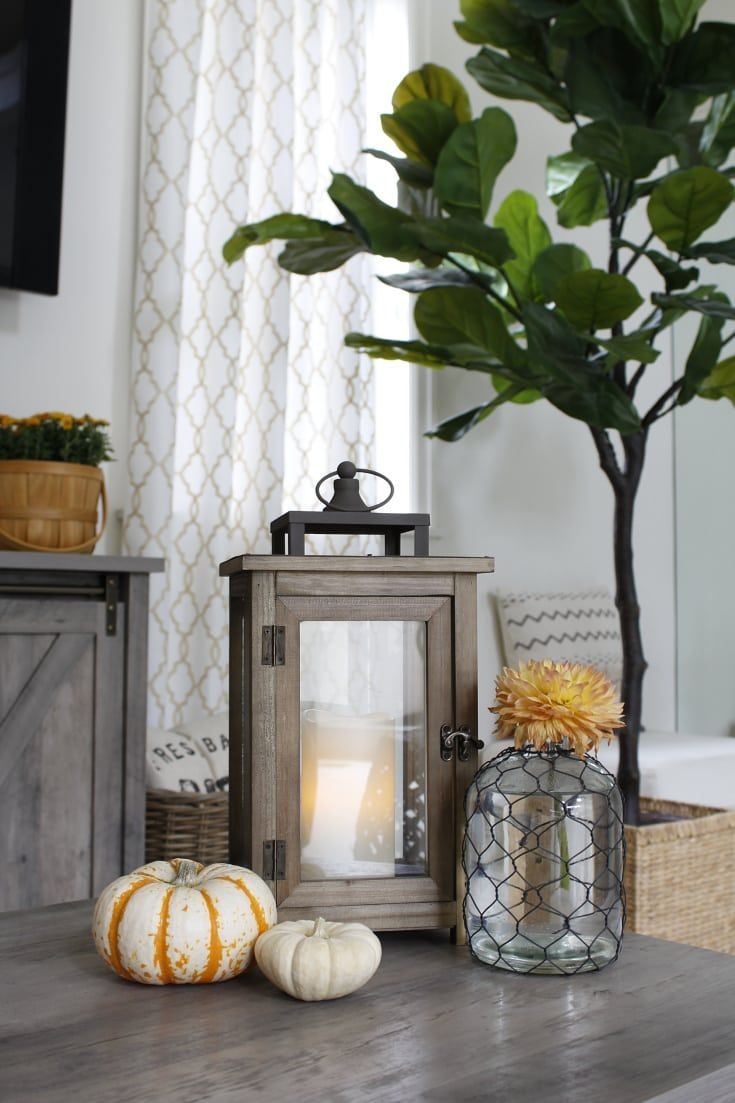 Affordable Decorating Ideas For Living Rooms: Easy, Affordable Decorating Ideas For Fall And All Year