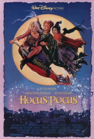 """""""Hocus Pocus"""" 27"""" x 40"""" reproduction movie poster at AllPosters.com.  Must have this for our Hocus Pocus Halloween party! Hocus Pocus Halloween Party Decorations & Ideas"""