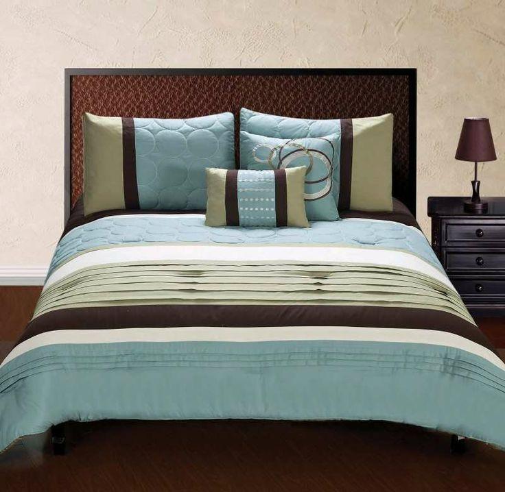 Hallmart Jackson 5 Piece Comforter Set From Bedding.com $109.99 #bedding  #comforterset