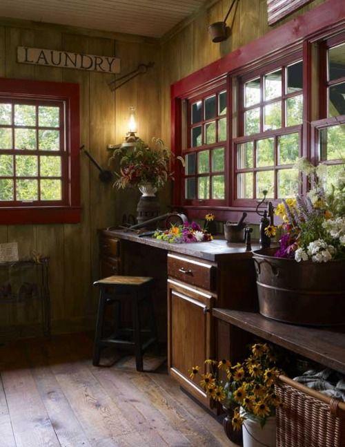 primitive style room: Ideas, Interior, Mudroom, Dream, Mud Room, Laundry Rooms, House, Laundryroom