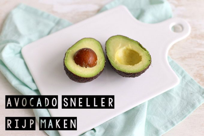 Een harde avocado gekocht? Wij geven je 3 tips om een avocado sneller te laten rijpen. Super simpele maar toch heel handige tips.