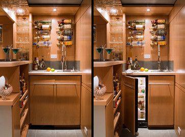 modern basement by Princeton Design Collaborative