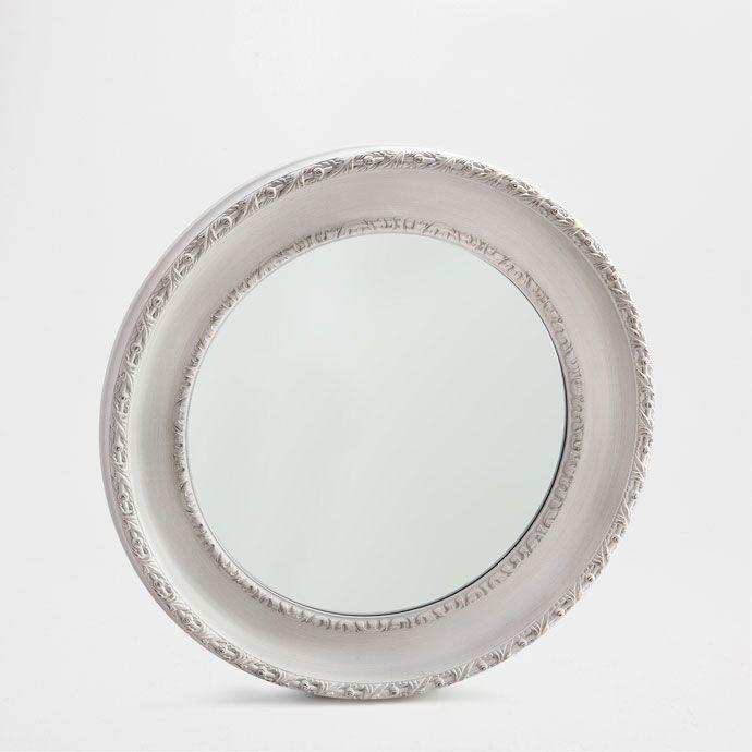 mmargune puidust peegel peeglid elutuba zara home. Black Bedroom Furniture Sets. Home Design Ideas