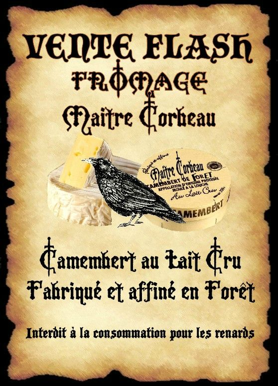 affiche corbeau