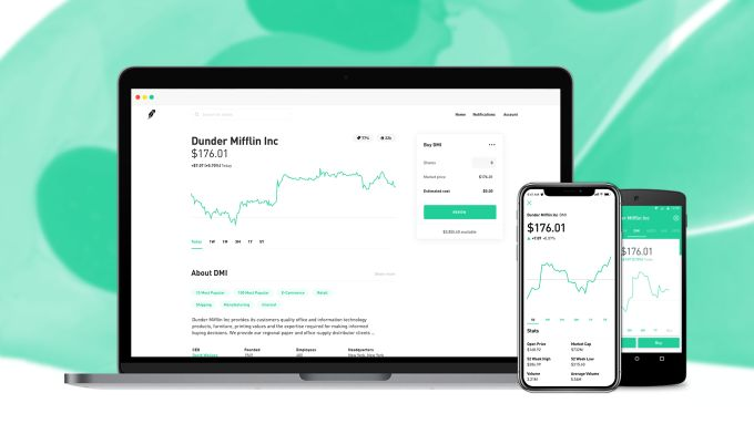 Robinhood stock trading comes to web with finance news for its 3M users #Startups #Tech