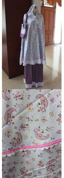 "MUKENA - MKA06. Bahan: Katun Jepang. Ukuran: All Size. ""SOLD OUT!"""