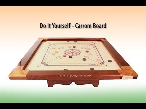 DIY Carrom Board, How to make Carroms, How to Make Carrom Board, Carrom ...