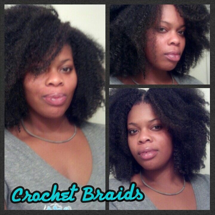 Crochet Braids w/ Marley Hair Brand: Noir by Janet #bighair # ...