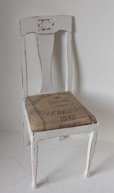 Minimi´s Lantliga stolar 4st - Minimis Smått & Sånt