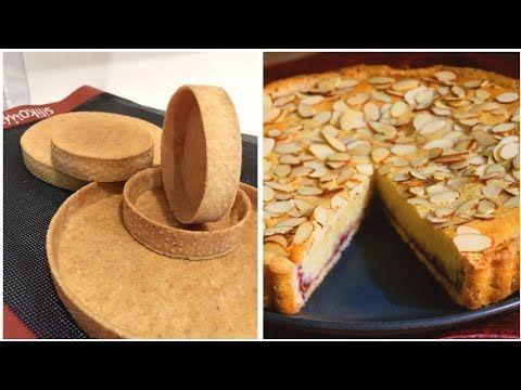 الطريقة الوحيدة والسهلة لنجاح تارت اللوز بعجينة رائعة How To Make Almandine Tart Youtube