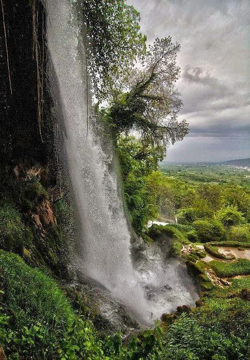 Edessa waterfall Greece