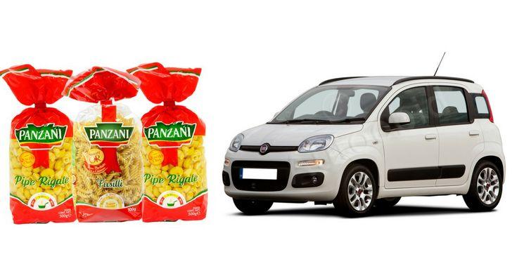 1 Voiture FIAT PANDA et des lots Panzani à gagner