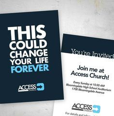 church easter invite cards - Google Search | Church Design ...